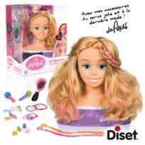 Diset - Tête à coiffer Miss Pepis