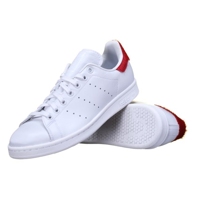 W Originals Stan S75562 Smith Adidas Blancrouge Chaussure jL3R5Aq4
