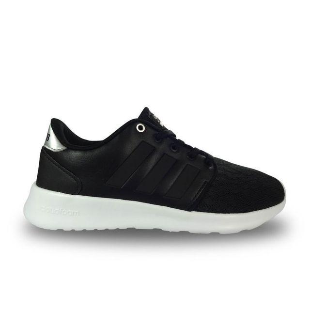 Adidas Chaussure femme cloudfoam qt racer noire 37 pas