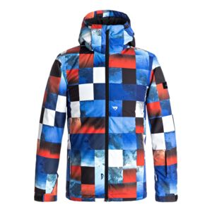 quiksilver veste de ski mission printed youth jacket multicolore pas cher achat vente. Black Bedroom Furniture Sets. Home Design Ideas