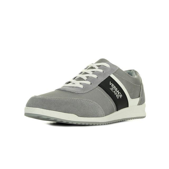 Versace Jeans - Sneaker Uomo DisB3 Nylon Suede - pas cher Achat ... 566eb0ea3b2