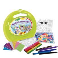 Joustra - Mallette ronde : Mosaix Coloriage