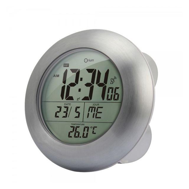 Générique - Horloge de salle de bain sans fil digitale, étanche et ...