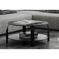 Tema Home - Temahome table basse reglable Scale 80 80 cm noire