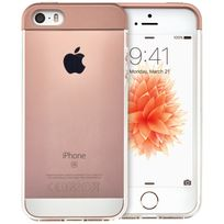 QDOS - Coque Topper ROSEGOLD pour APPLE iPhone SE
