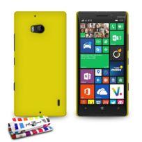 "Muzzano - Coque Rigide Ultra-Slim Le ""Pearls"" Premium Jaune pour Nokia Lumia 930"
