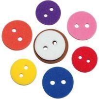 Oz International - boutons en mousse caoutchouc souple - sachet de 600