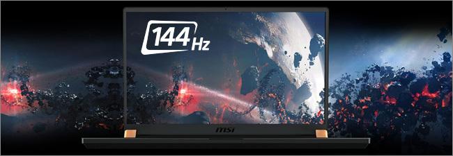 MSI GS - Ecran 144Hz