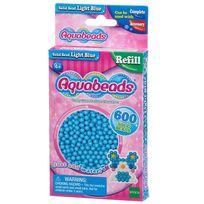 Aquabeads - Recharge de 600 perles bleues claires