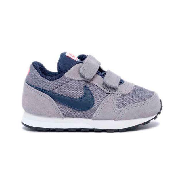 official photos 59952 d91a4 Nike - Chaussures Nike Md Runner 2 Td gris bleu foncé enfant