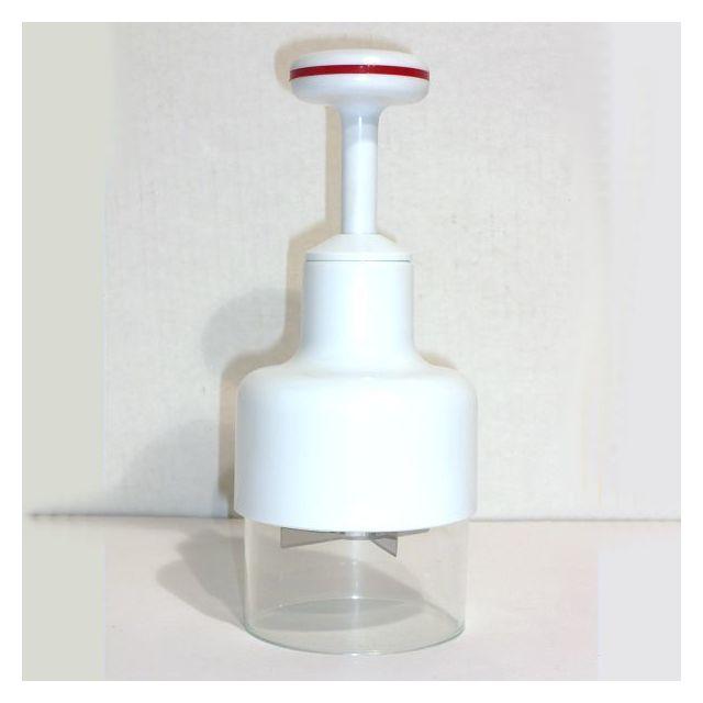 Revimport Hâche-oignons plastique blanc diamètre 8,5 cm