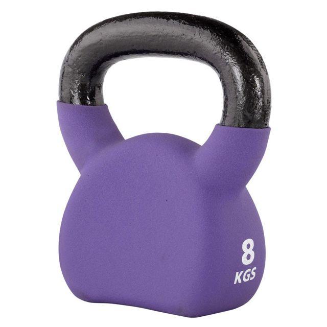 Set Kettlebell Haltère à boule Haltères Vinyle Musculation Gymnastique Kettle Bell Kettlebells