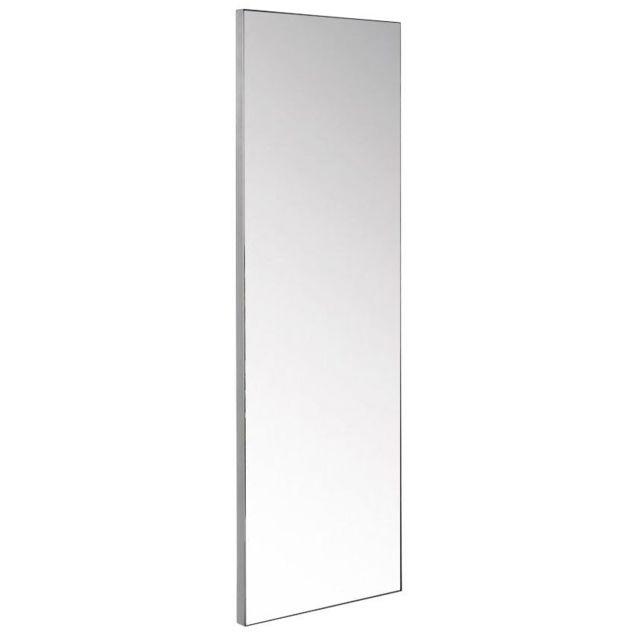 COMFORIUM Miroir mural en Inox brossé 50x150cm