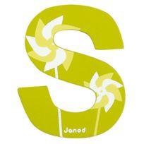 Janod - Lettre décorative en bois -S