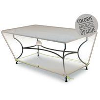 Housse de protection pour table rectangulaire 210 x 100 x 50 cm LUXE