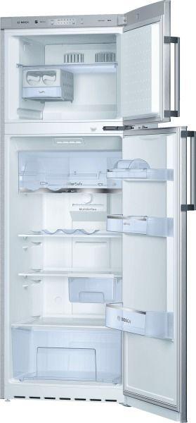Bosch réfrigérateur combiné 60cm 274l a+ no frost silver - kdn30x45