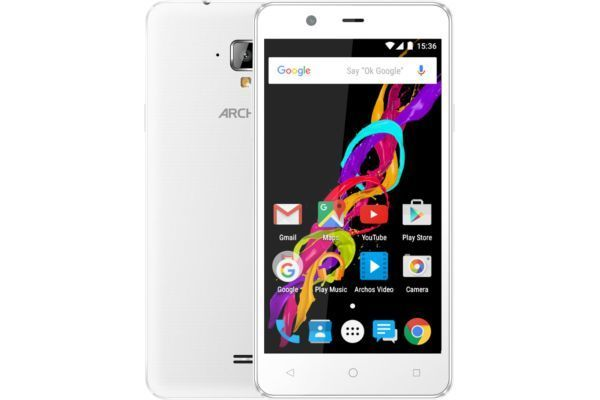 archos smartphone 50 titanium blanc 4g pas cher achat vente smartphone android android 5 1. Black Bedroom Furniture Sets. Home Design Ideas