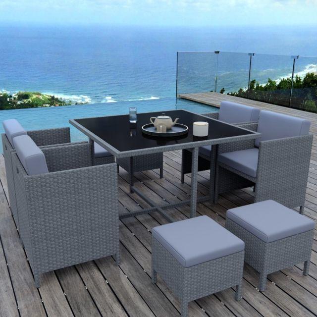 Ims Garden - Munga 8 Places - Ensemble encastrable salon / table de ...