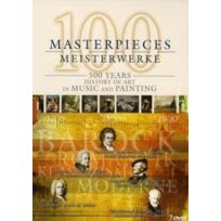 Capriccio - 100 Masterpieces - 500 Years History Of The Arts In Music And Painting - Coffret De 2 Dvd - Edition simple