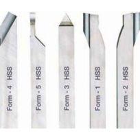 Proxxon - Outils de tournage en acier Hss au cobalt de haute qualité 10 x 10 x 80 mm pour Pd 400
