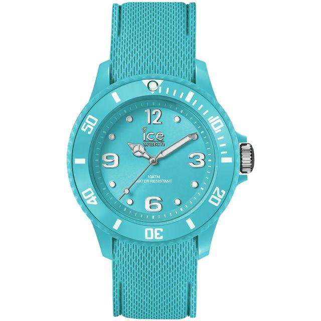 a29947cec2daf Ice-Watch - Montre en Silicone Bleu - pas cher Achat / Vente Montres femme  - RueDuCommerce