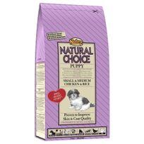 Nutro Natural Choice - Croquettes au Poulet et Riz pour Petit et Moyen Chiot - 2Kg