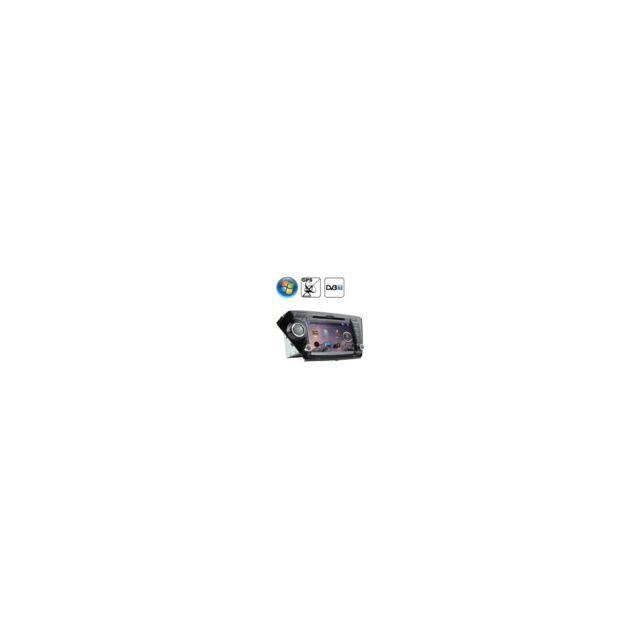 Auto-hightech Autoradio au tableau de bord à écran Tft de 8,0pouces, Windows Ce 6.0, pour Kia K2 avec Bluetooth / Gps / Rds / Dvb-t