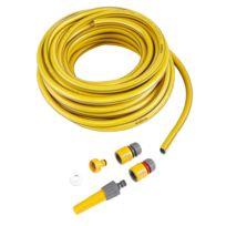HOZELOCK - ULTRA FLEX - Kit tuyau d'arrosage + lance et connecteurs - 117021