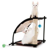 Kitty City - Colline d'escalade - Aire de jeux 44x45x45cm - Pour chat