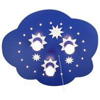 Elobra-Leuchten - Led À ÉTOILES Bleu 124208 Elobra Plafonnier Papillons À 3