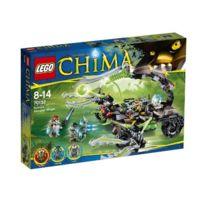 Lego - Legends Of Chima Playthèmes Jeu De Construction Le Lance-missiles Scorpion De Scorm