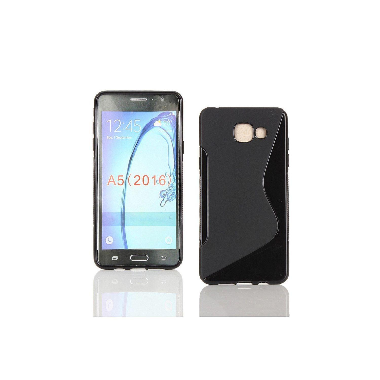 Lapinette - Coque Gel Vague S Pour Samsung Galaxy A5 2016 - Noir