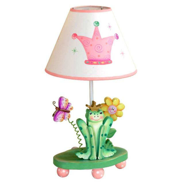 Fantasy Fields Lampe A Poser Enfant Princess Frog Chevet Bureau