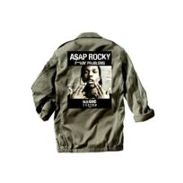 Magic custom - Veste militaire asap rocky f kin' problems