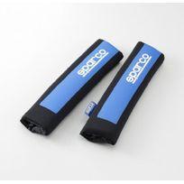Sparco Corsa - 2 fourreaux Sparco logo Spc bleu et noir