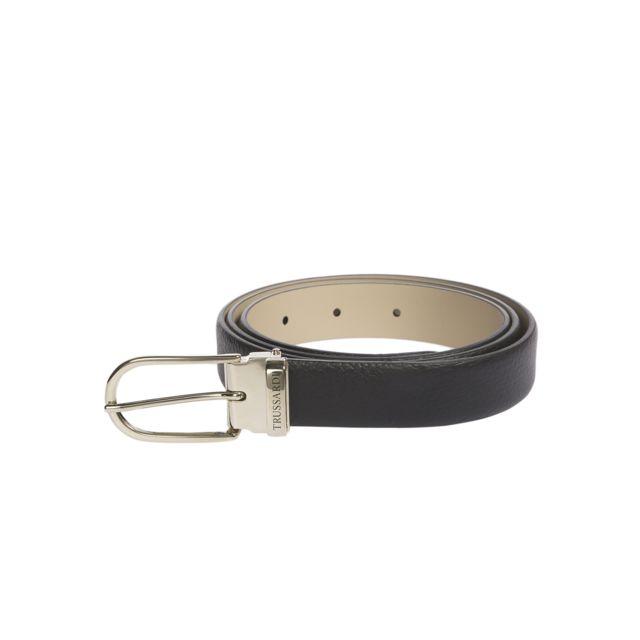 Trussardi ceinture noir