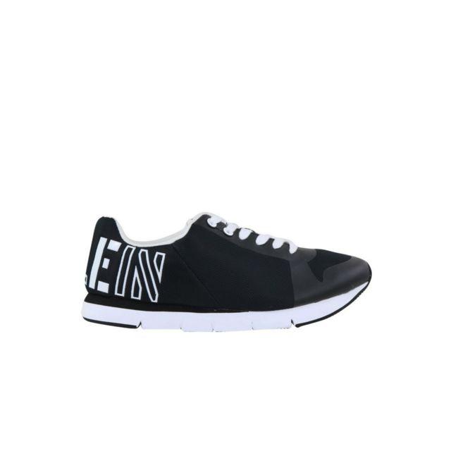 021e77af808 Calvin Klein - Sneakers En Mesh Avec Logo Jabre - pas cher Achat   Vente  Baskets homme - RueDuCommerce