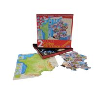 Ferriot Cric - Coffret 2 Puzzles France