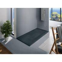 KINEDO - Receveur douche rectangle Kinerock, 160 x 90, Blanc