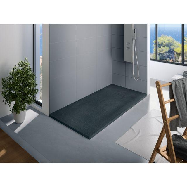 KINEDO - Receveur douche rectangle Kinerock, 160 x 90, Blanc - pas ...