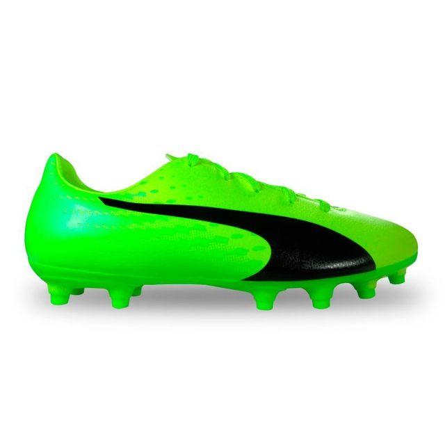 0edb8982f74e7 Puma - Chaussure de football junior evospeed 17.5 fg Vert - 36 - pas ...