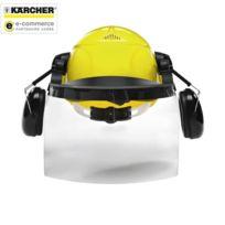Karcher - Casque de sécurité avec visière et coquilles antibruit intégrées - 6.025-512.0