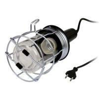 Zenitech - Baladeuse métal filaire 5m 60W pour ampoule E27