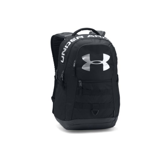 Under Armour - Ua Big Logo 5.0 Backpack 1300296-001 Argent - pas ... 44ce953c1fa1