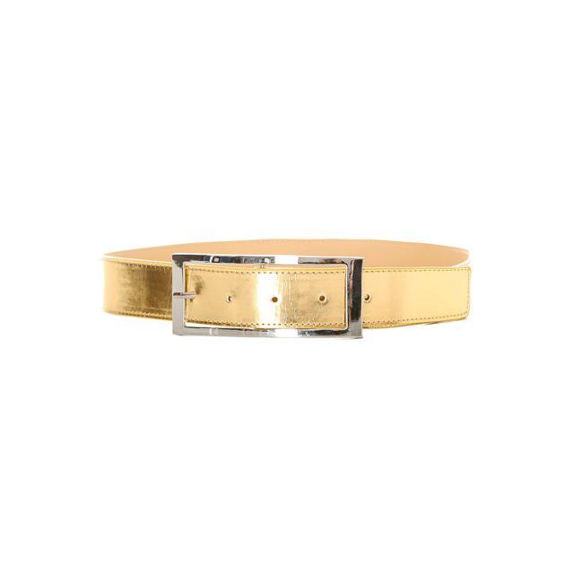 ddf5a4a56671 Grossiste-en-ligne - Magnifique ceinture doré avec boucle métallisé. 5090