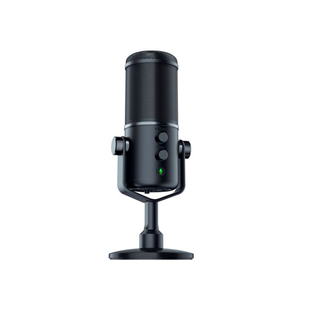 RAZER Microphone Seiren Elite Microphone professionnel numérique USB polyvalent et multidirectionel