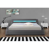 Lit Design LED gris-140 x 190 cm