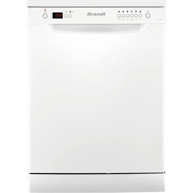 Brandt lave-vaisselle 60cm 12c 47db a++ blanc - dfh12227w