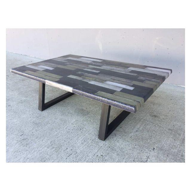 Mathi Design Table Basse Bronx