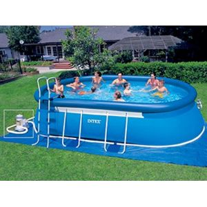 Intex vigipiscine kit piscine hors sol autoportante for Piscine autoportante intex
